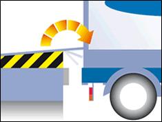 Гидравлические доклевеллеры (уравнительные платформы) с откидной (поворотной) аппарелью L300