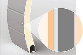 Защита элементов роллет двухслойным полиуретановым покрытием