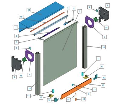 Конструкция роллетных систем, совмещенных с антимоскитной защитой